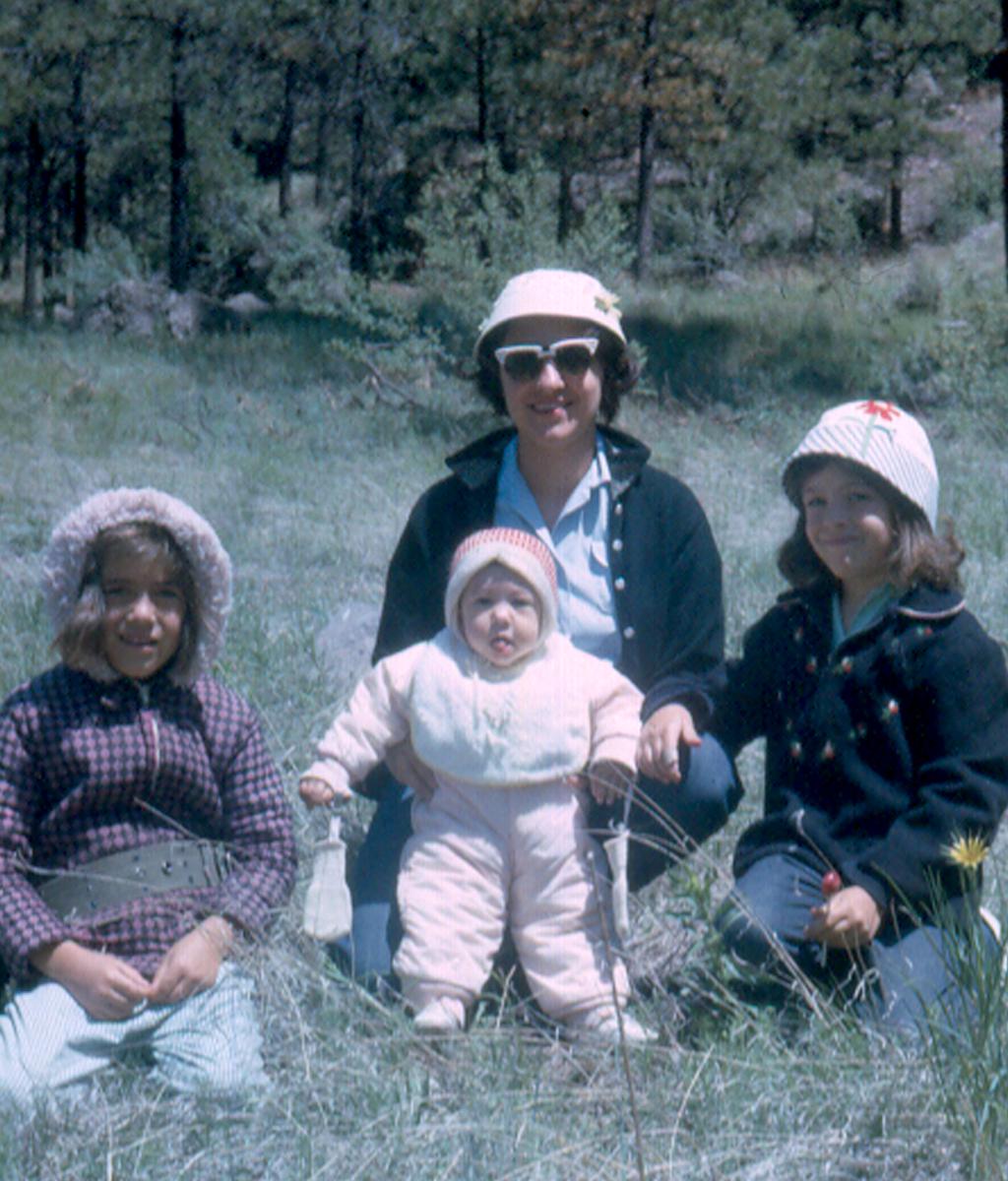 Carol, Catherine, Mom, Mary