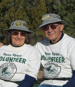 Victoria & Rozier Sanchez, Open Space Volunteers